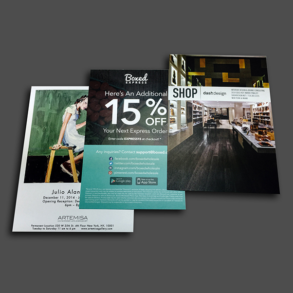 Sell sheet, brochures, pamphlets, folding, printing