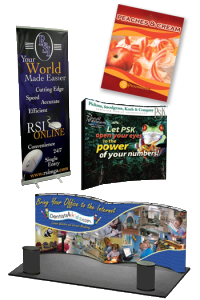 Javtis Convention center printing posters sales material delivery